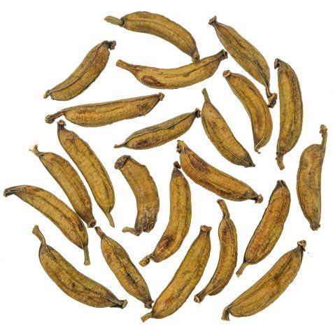 Mini bananes séchées déco - Lot de 10