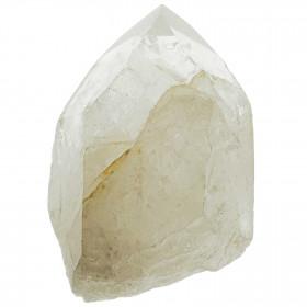 Pointe brute de cristal de roche - 310 grammes