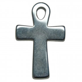 Pendentif croix Ankh en hématite