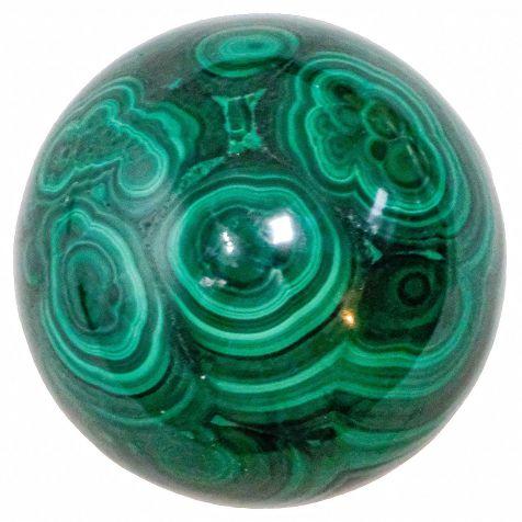 Sphère de malachite - 46 mm - 200 g