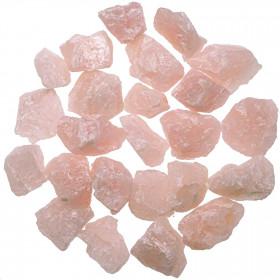 Pierres brutes quartz rose - 3 à 4 cm - 100 grammes