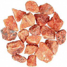 Pierres brutes calcite de feu - 3 à 5 cm - 100 grammes