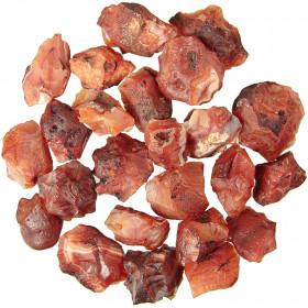 Pierres brutes cornaline - 2 à 4 cm - 100 grammes