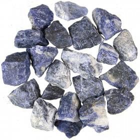 Pierres brutes sodalite - 3 à 5 cm - 100 grammes
