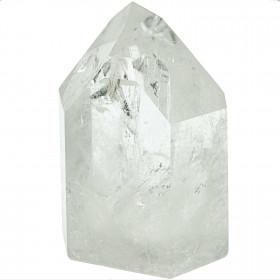 Pointe polie mono-terminée en cristal de roche - 471 grammes