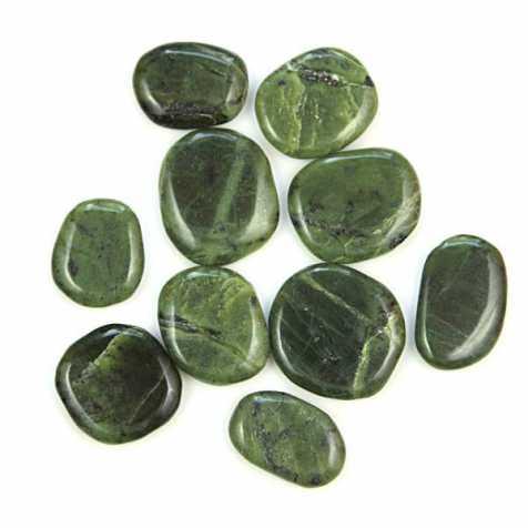 Pierre plate jade néphrite du Canada - A l'unité