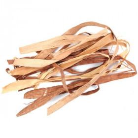 Lianes larges de raffia brun - 150 grammes