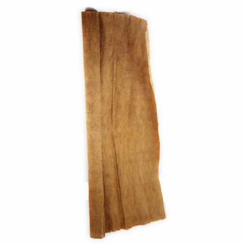 Grande feuille en fibre d'écorce de coco - 1 x 1 mètre