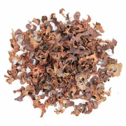 Gousses de haricots frisées naturelles - 100 grammes