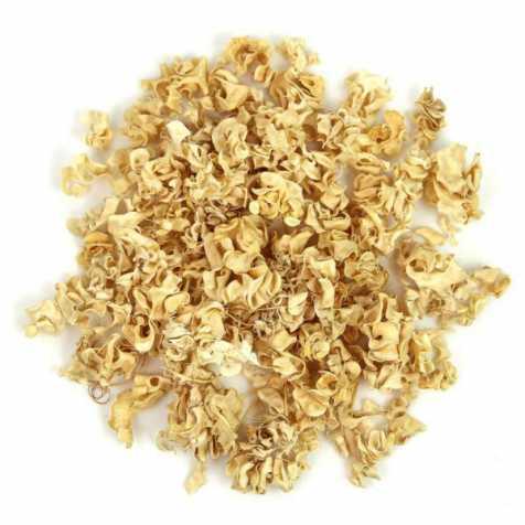 Gousses de haricots frisées blanchies - 100 grammes