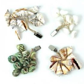 Fixe nappe bouquet de coquillages - Lot de 4 modèles
