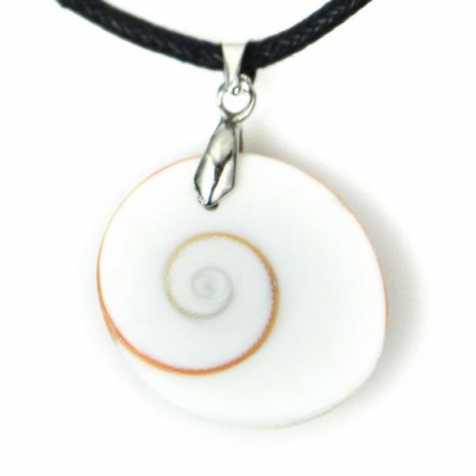 Pendentif oeil de Shiva avec cordon
