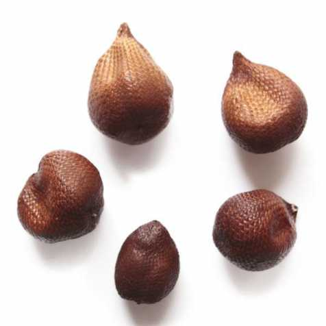 Fruits séchés déco salak peau de serpent - Lot de 5