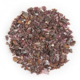 Sable brut de grenat pyrope 2/10 mm - 100 grammes