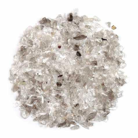 Sable brut de cristal de roche 0/10mm - 100 grammes