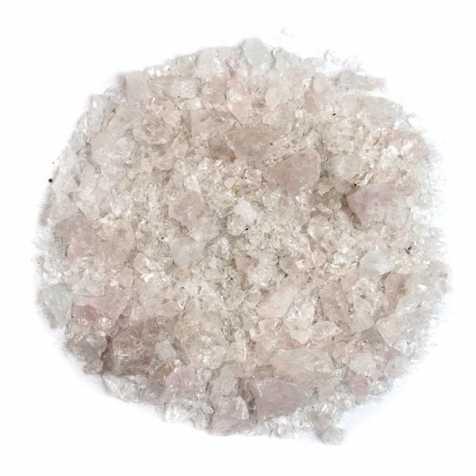 Sable brut de quartz rose 0/10mm - 100 grammes