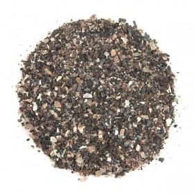 Sable brut mélangé de mica phlogopite et de tourmaline noire 0/10mm - 100 grammes