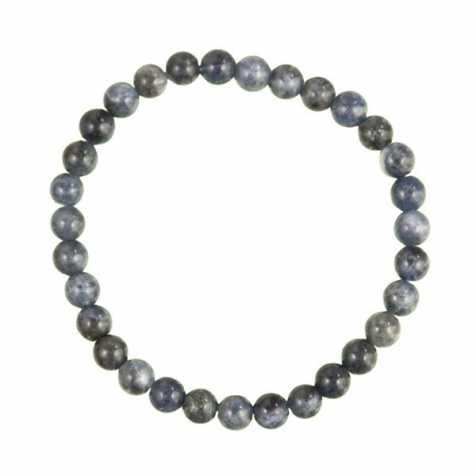 Bracelet en sodalite - perles rondes