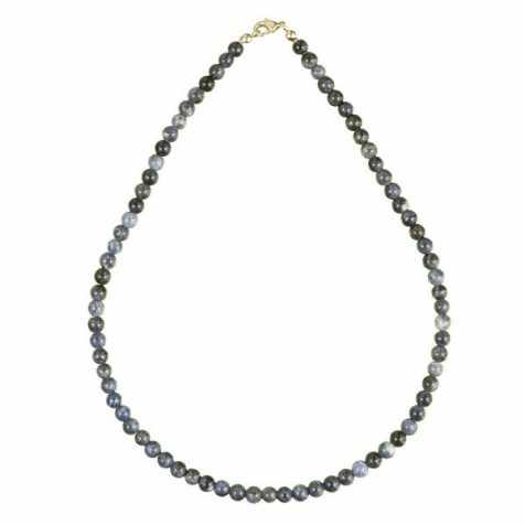 Collier en sodalite - 45 cm - Perles rondes