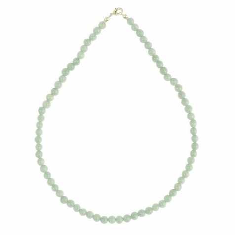 Collier en amazonite - 45 cm - Perles rondes