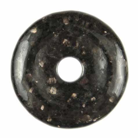 Donut Pi Chinois en nuumite pour pendentif