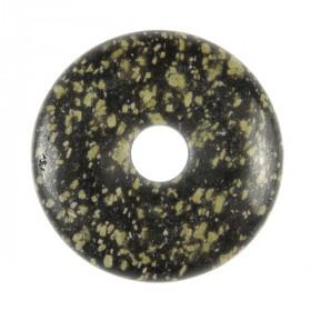 Donut Pi Chinois en porphyre impérial pour pendentif