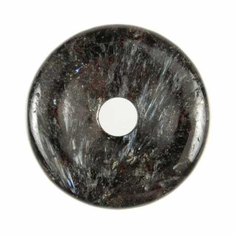 Donut Pi Chinois en astrophyllite pour pendentif