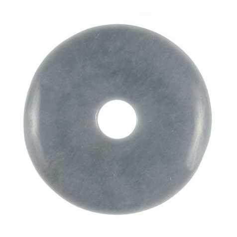 Donut Pi Chinois en angélite pour pendentif