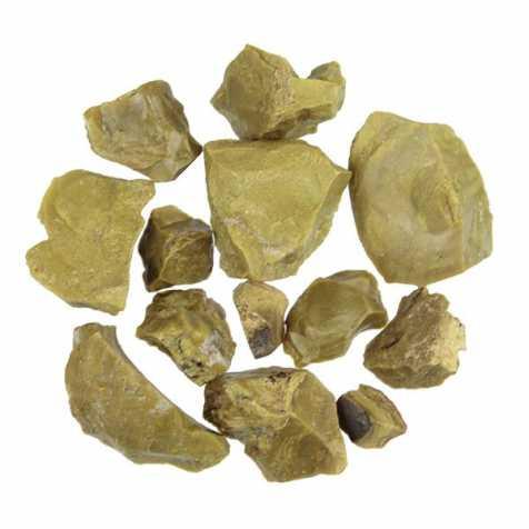 Pierres brutes opale verte - 2 à 4 cm - 50 grammes