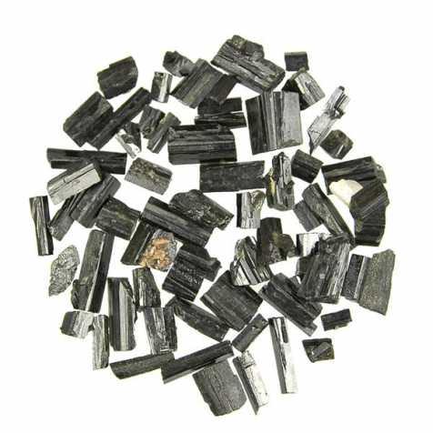 Pierres brutes cristaux d'épidote - 1 à 2.5 cm - 10 grammes