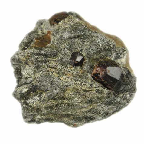 Grenats almandin sur gangue de mica - 156 grammes