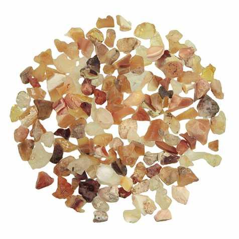 Pierres brutes opale de feu - 0.5 à 1 cm - 10 grammes
