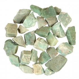 Pierres brutes amazonite - 3 à 5 cm - 100 grammes