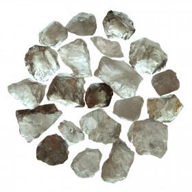 Pierres brutes quartz fumé - 3 à 5 cm - 100 grammes