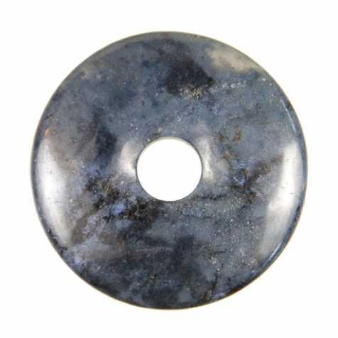 Donut Pi Chinois en dumortierite pour pendentif