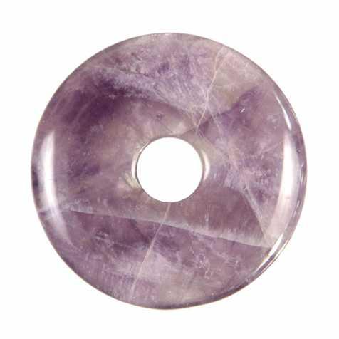 Donut Pi Chinois en améthyste pour pendentif