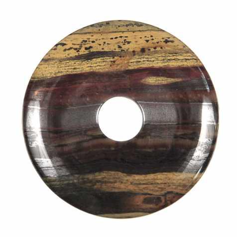 Donut Pi Chinois en oeil de fer pour pendentif