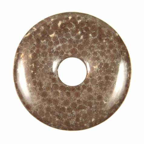Donut Pi Chinois en oolithe pour pendentif