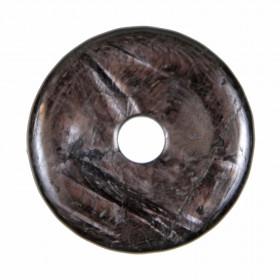 Donut Pi Chinois en hypersthène pour pendentif
