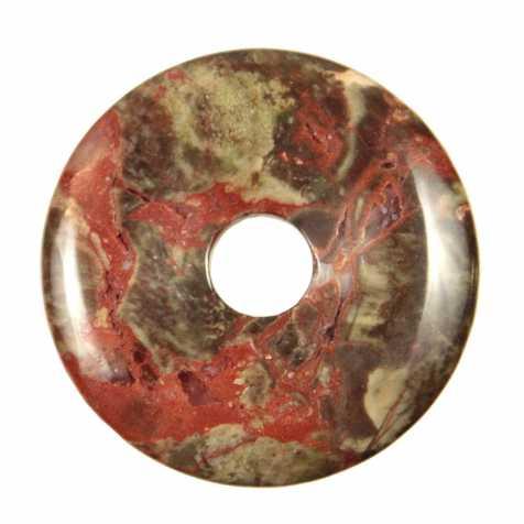 Donut Pi Chinois en rhyolite pour pendentif