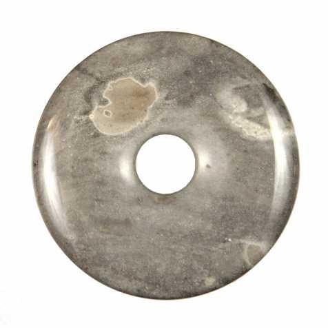 Donut Pi Chinois en silex pour pendentif