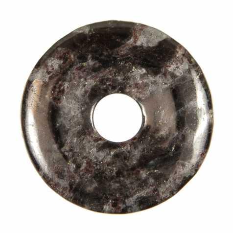 Donut Pi Chinois en anthophyllite pour pendentif