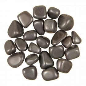 Pierres roulées agate noire - 2 à 3 cm - 30 grammes