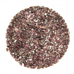 Mini pierres roulées grenat almandin - 2 à 5 mm - 100 grammes