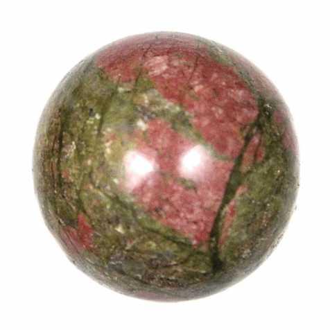 Sphère en unakite