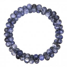 Bracelet petites perles en sodalite