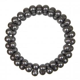 Bracelet petites perles en hématite