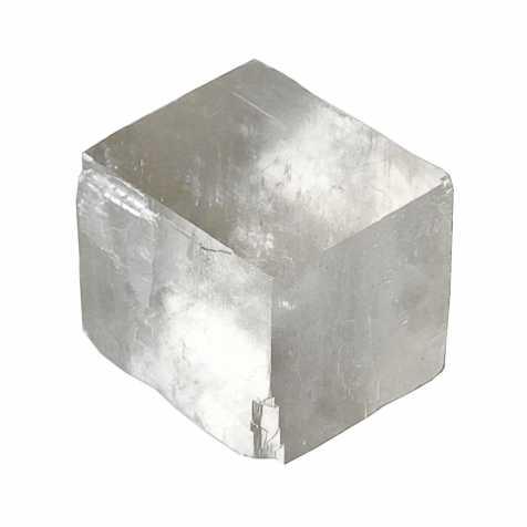 Pierre brute calcite optique blanche - A l'unité