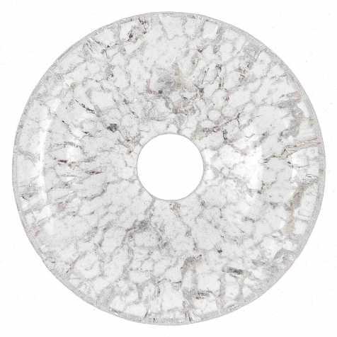 Donut Pi Chinois en cristal craquelé pour pendentif