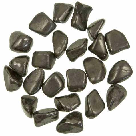Pierres roulées shungite - 2 à 3 cm - Lot de 2